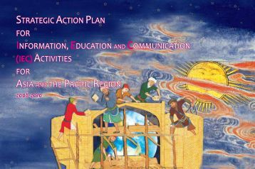strategic action plan for information, education and ... - DTIE