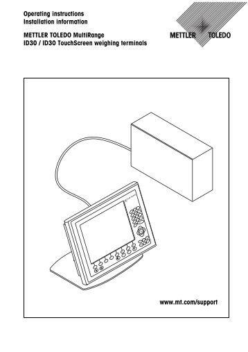 METTLER TOLEDO DIVA Service Manual PSC 8500 Magellan