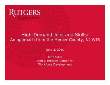 Download - John J. Heldrich Center for Workforce Development