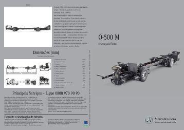 Folheto O-500 M - Mercedes-Benz