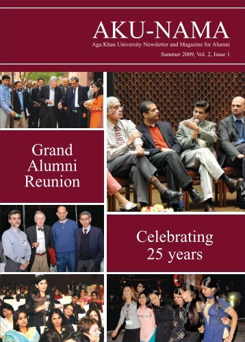 Summer 2009, Vol. 2, Issue 1 - Aga Khan University