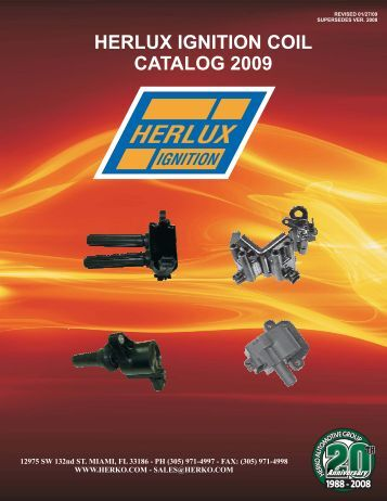 HERLUX IGNITION COIL CATALOG 2009 - All World, Inc.