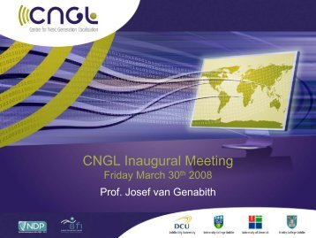 Personalisation - CNGL