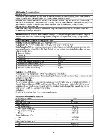 GSK Study Register - Study 107531
