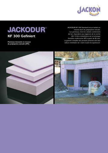 jackodur kf 500 standard sf jackon insulation. Black Bedroom Furniture Sets. Home Design Ideas