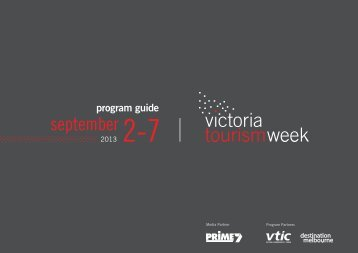 september 2-7 - Destination Melbourne