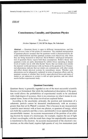 essay on quantum physics Suggested essay topics and study questions for 's max planck perfect for students who have to write max planck essays sparknotes search menu the upheaval caused by this suggestion spurred a physics revolution, resulting in the creation of a new field, quantum physics.
