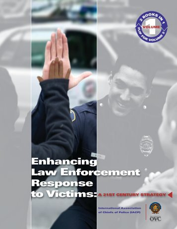 training to enhance law enforcement response Law enforcement response to child abuse—like all the portable guides in this series—is designed to assist those working to help protect children from being victimized and to improve.