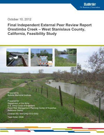 Final IEPR Report - Sacramento District - U.S. Army