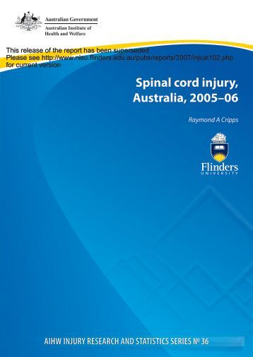 available here - Research Centre for Injury Studies - Flinders ...