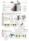 essenza automatic sn30 Bedienungsanleitung Instructions - Seite 4