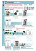 essenza automatic sn30 Bedienungsanleitung Instructions - Seite 7