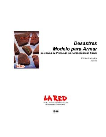 Desastres: Modelo para Armar - La RED