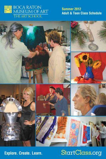 2012 Summer Catalog - Boca Raton Museum of Art