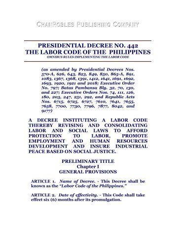 reaction paper for presidential decree no 1006 Basic laws on the professionalization of teaching presidential decree no 1006, s 1976 or the decree professionalizing teaching providing for the professionalization of teachers, regulating their practice in the philippines and for other purposes.