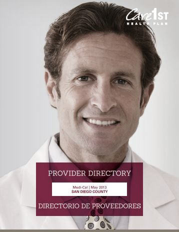 Provider Directory - Care1st Health Plan