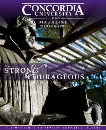 Winter '09 Edition - Concordia University