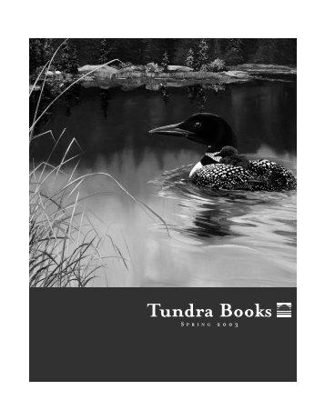 Download a catalogue - Tundra Books