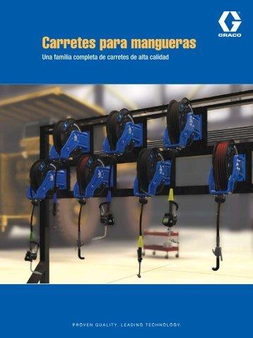Carretes para mangueras - Graco Inc.