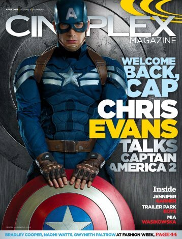 Cineplex Magazine April2014
