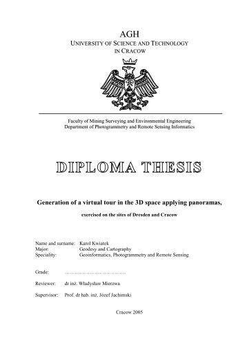 Diploma thesis