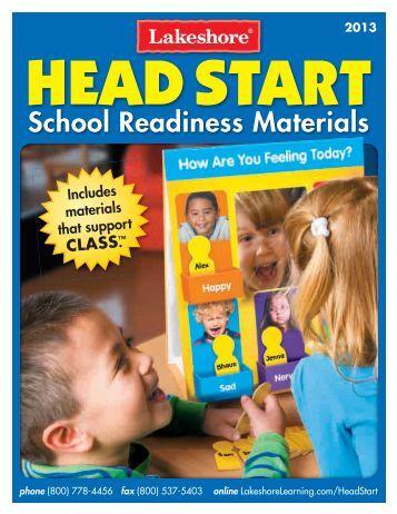 Head Start Catalog - Lakeshore Learning Materials