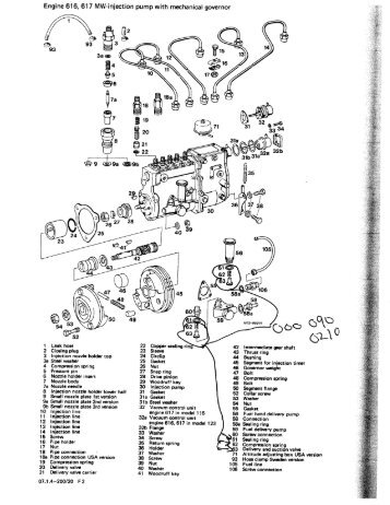 Ford 1700 Tractor Fuel Pump Diagram also Rotary Pump Parts Diagram further 351877 Toyota Diesel Injector Coding additionally 3 besides Fuel Pump Exploded View. on diesel engine lucas cav fuel pump