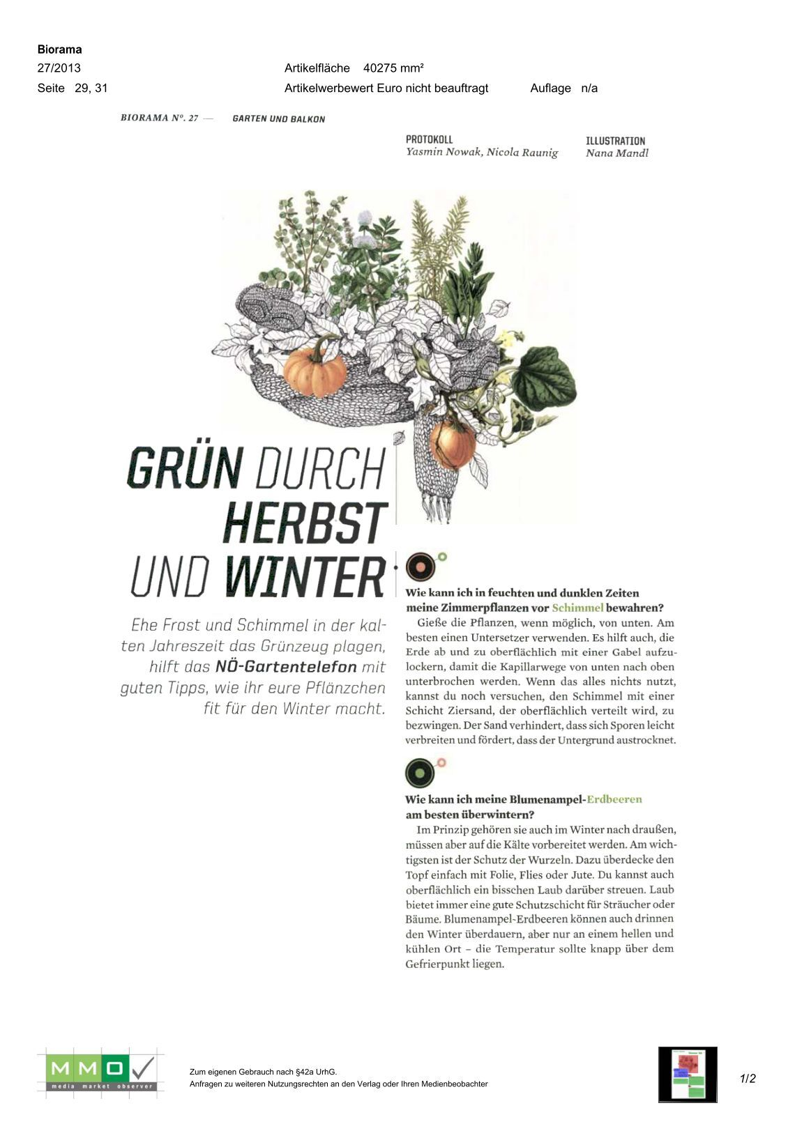 140 free magazines from naturimgarten at. Black Bedroom Furniture Sets. Home Design Ideas