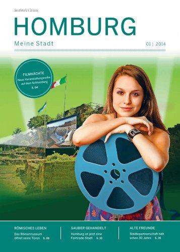 Stadtmagazin Homburg 01|2014