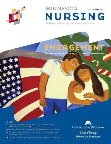 Minnesota Nursing magazine (Fall/Winter 2011) - School of Nursing ...