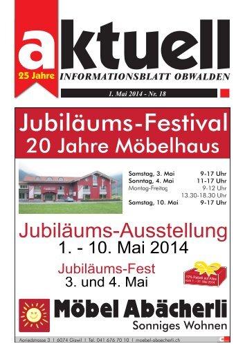 Aktuell Obwalden 18-2014