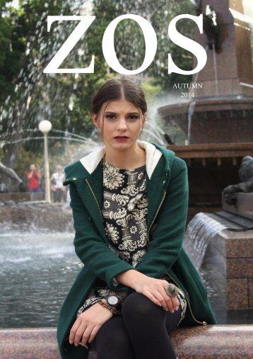 ZOS Magazine Autumn Issue 2014