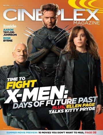 Cineplex Magazine May2014
