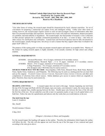 research paper guide sheet Mla (modern language association) style is most commonly used to write papers and cite sources within the liberal arts and humanities this resource, updated to reflect the mla handbook (8th ed), offers examples for the general format of mla research papers, in-text citations, endnotes.