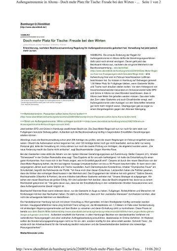 Doch mehr Platz für Tische: Freu - Oberthür & Partner