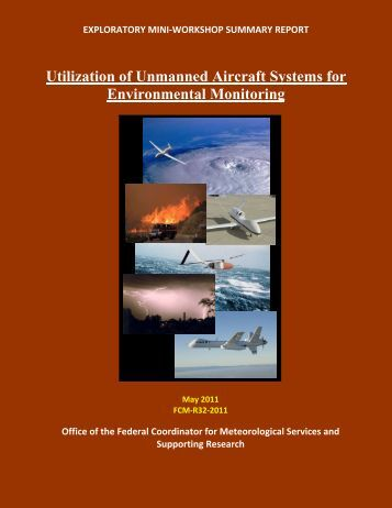 Utilization of Unmanned Aircraft Systems for Environmental Monitoring