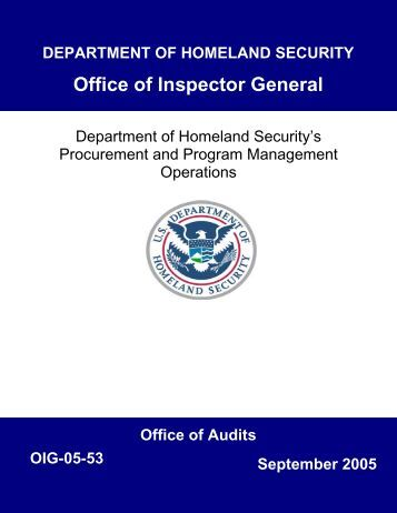Order for supplies or ser - Office of homeland security and preparedness ...
