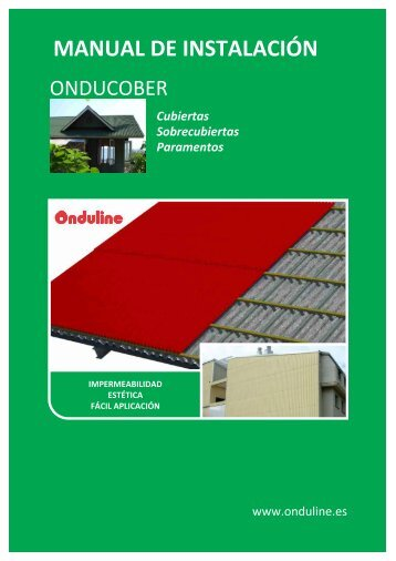 Manual de Instalación Onducober