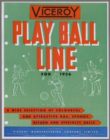 Play Ball Line - 1956 PDF download - Canadian Museum of ...