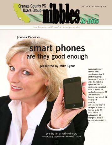 Jan. 2011 - Orange County IBM PC Users' Group