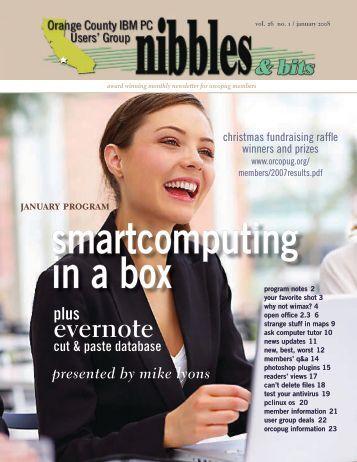 Jan. 2008 - Orange County IBM PC Users' Group