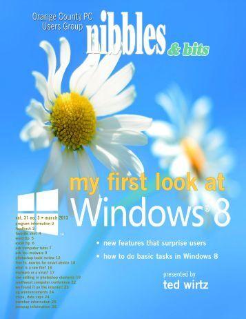 Mar. 2013 - Orange County IBM PC Users' Group
