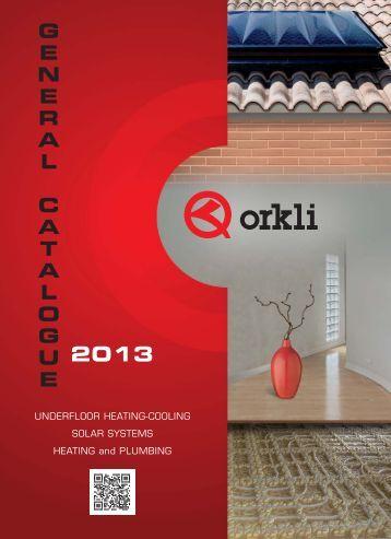 General catalogue 2013 - Orkli