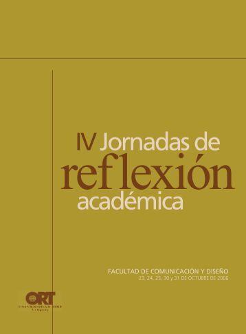 IV Jornadas de Reflexión Académica - Universidad ORT Uruguay