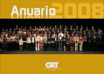 ANUARIO 2008-ultimo.p65 - Universidad ORT Uruguay