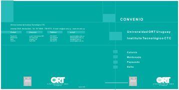 CONVENIO - Universidad ORT Uruguay