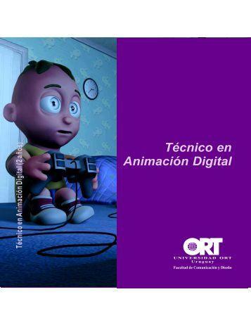 Animacion digital.p65 - Universidad ORT Uruguay