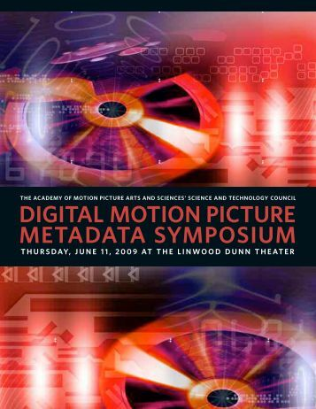 Download Program - Academy of Motion Picture Arts and Sciences