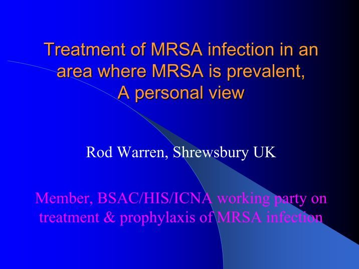 nursing essay on mrsa