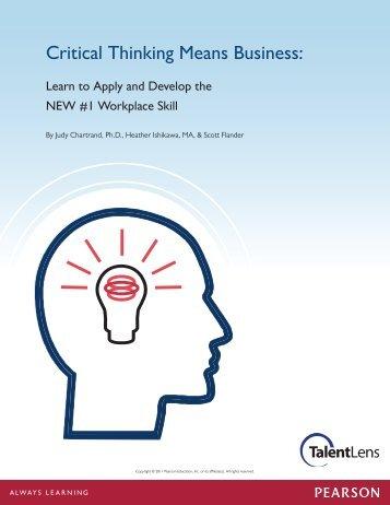 critical thinking university